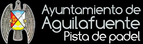 """Ayuntamiento de Aguilafuente """"Pista de padel"""""""